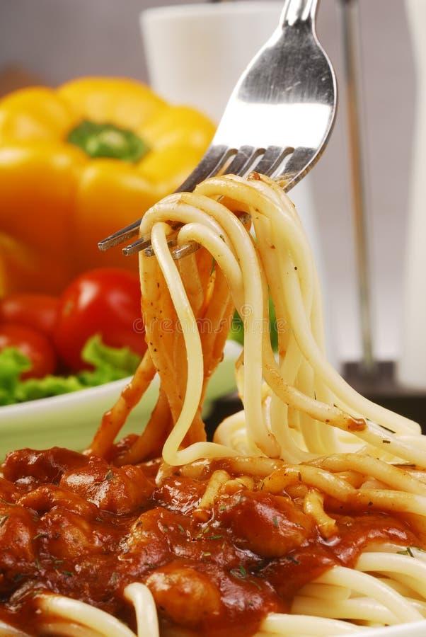 Italiaanse noedel stock afbeelding