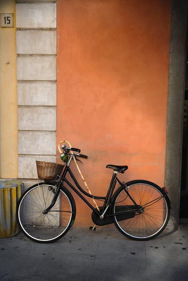Italiaanse ouderwetse fiets royalty-vrije stock foto