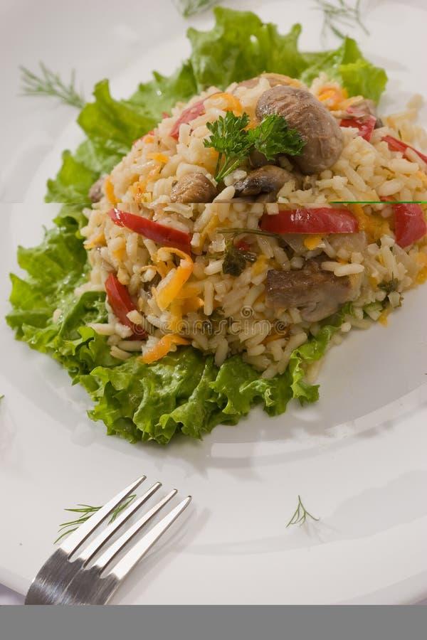 Italiaanse risotto royalty-vrije stock foto's