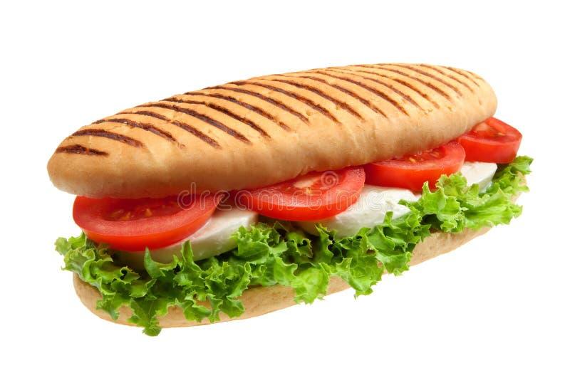 Italiaanse sandwich stock fotografie