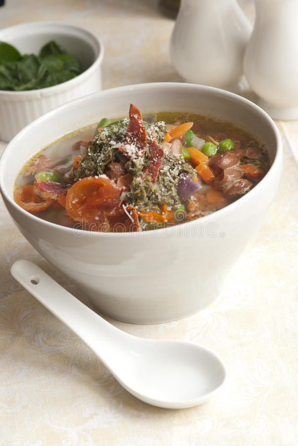 Italiaanse soep stock foto's
