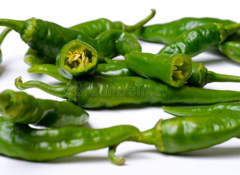 Italiaanse Spaanse peper royalty-vrije stock foto