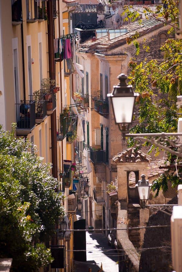 Italiaanse steeg stock foto
