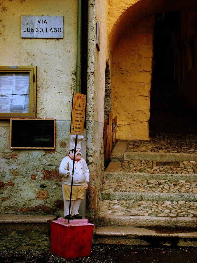 Italiaanse straat royalty-vrije stock fotografie