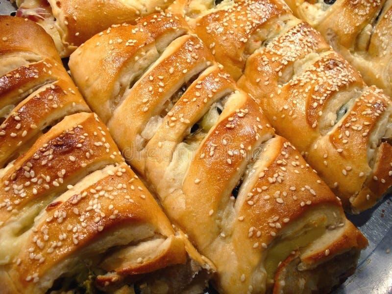Italiaanse Stromboli stock foto