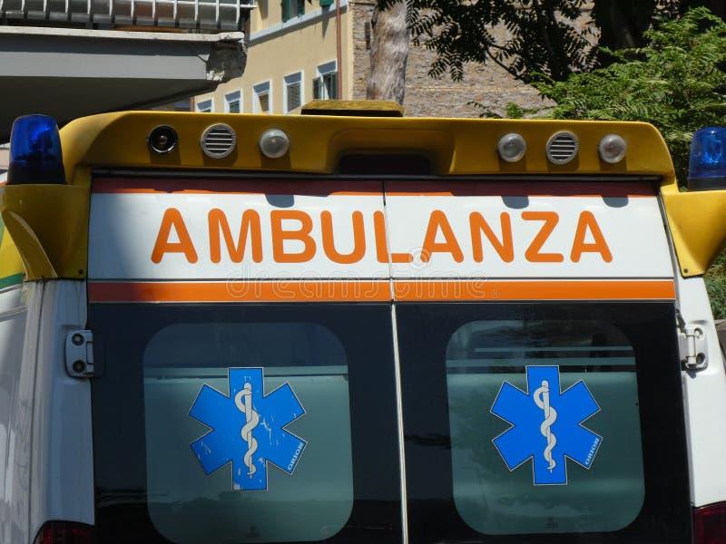 Italiaanse ziekenwagen royalty-vrije stock foto