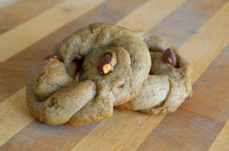 Italiaanse zoute koekjes royalty-vrije stock afbeeldingen