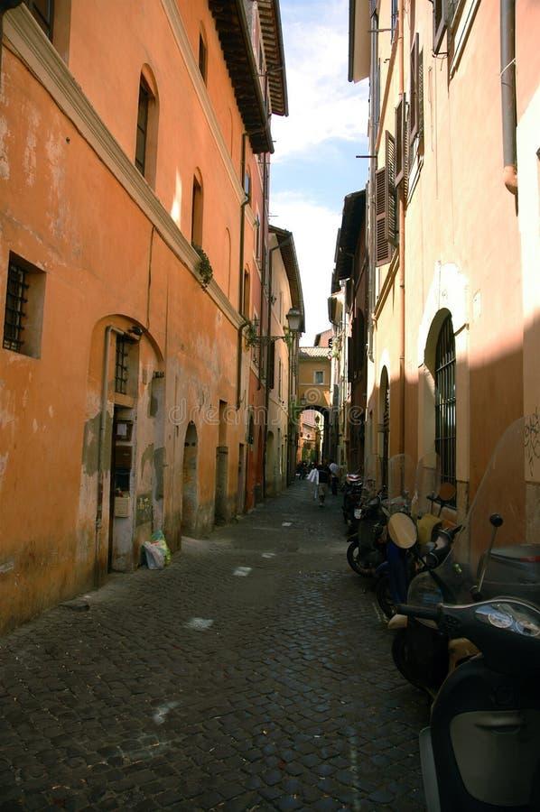 Italian alley royalty free stock photos