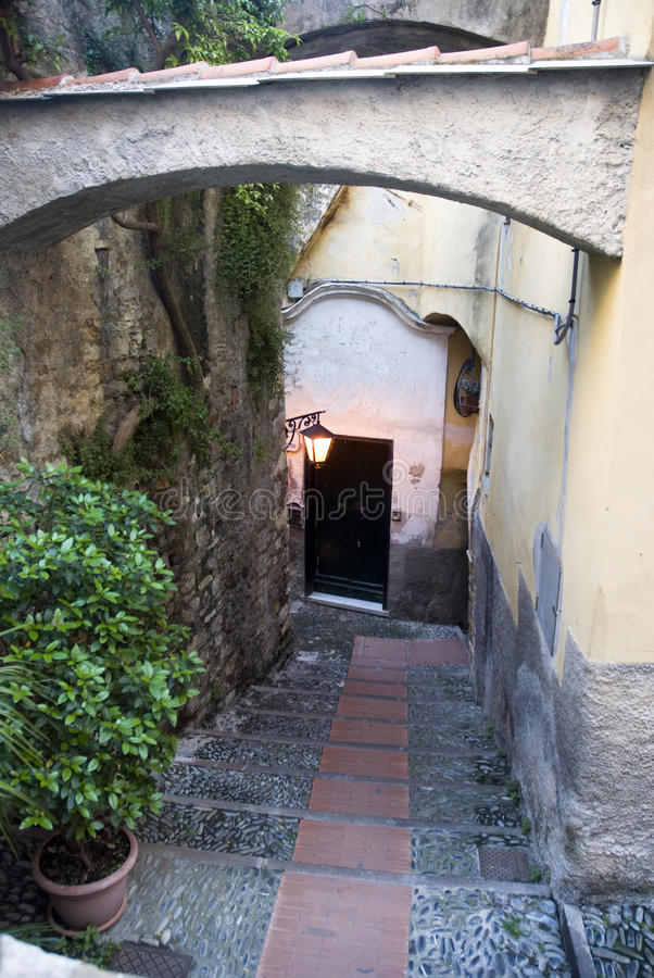 Free Italian Alley Stock Photography - 9525072