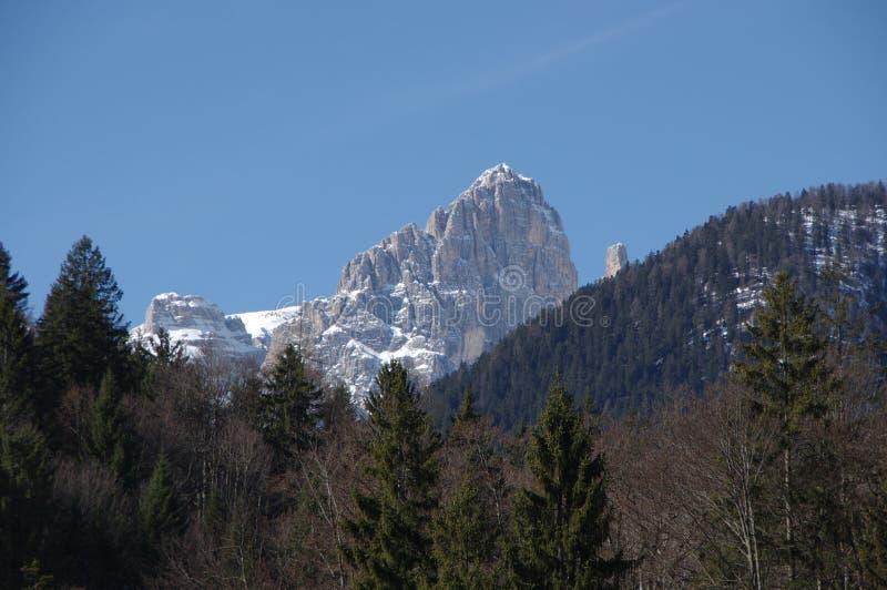Italian alps andalo snow winter 4 stock photos