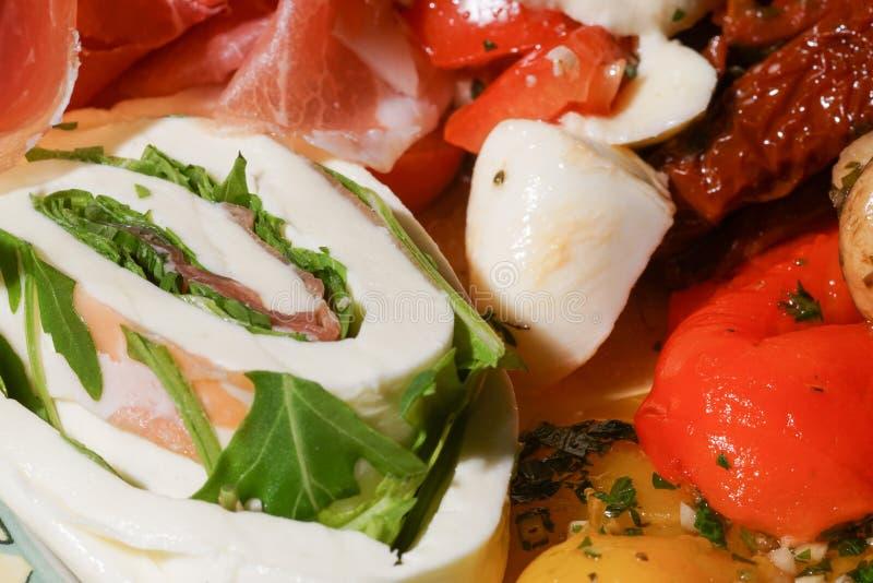 Italian antipasta stock photo