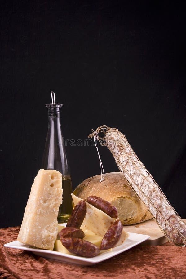 Italian antipasto stock photos
