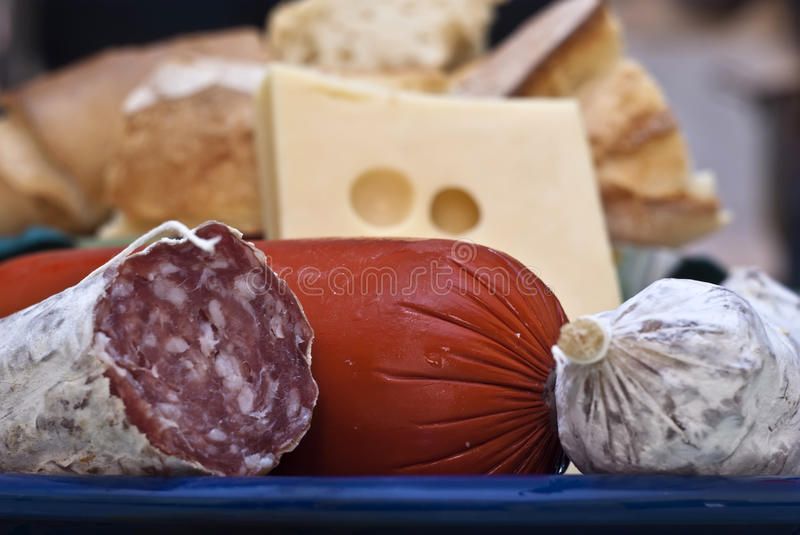 Italian Appetizers Stock Photography