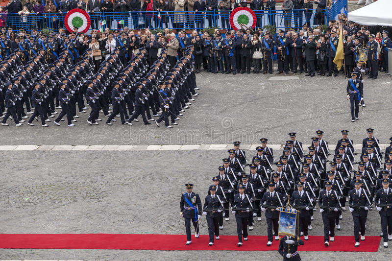Download Commemoration Of The Centenary Celebration With The Italian Air Force' Editorial Photo - Image: 30110431