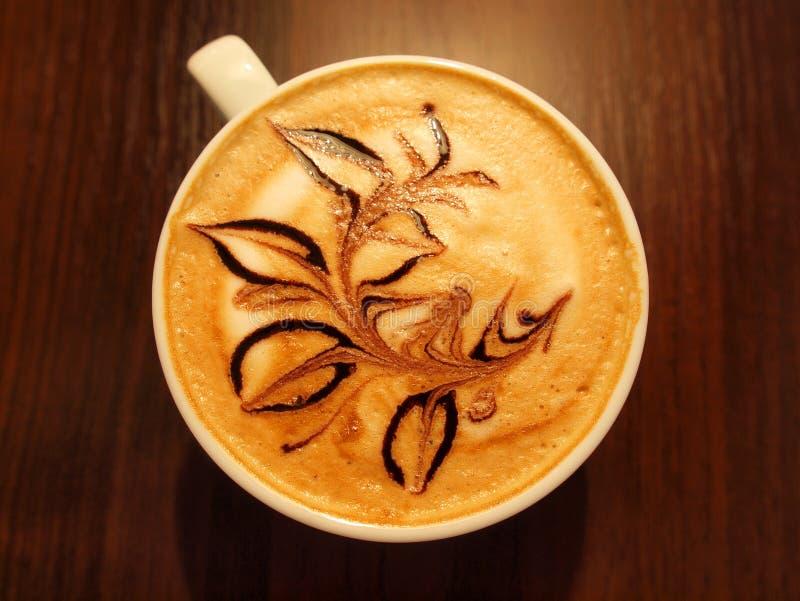 Italia Italy Caff� Cappuccino Coffee Flower Cafe Italian Bar stock image