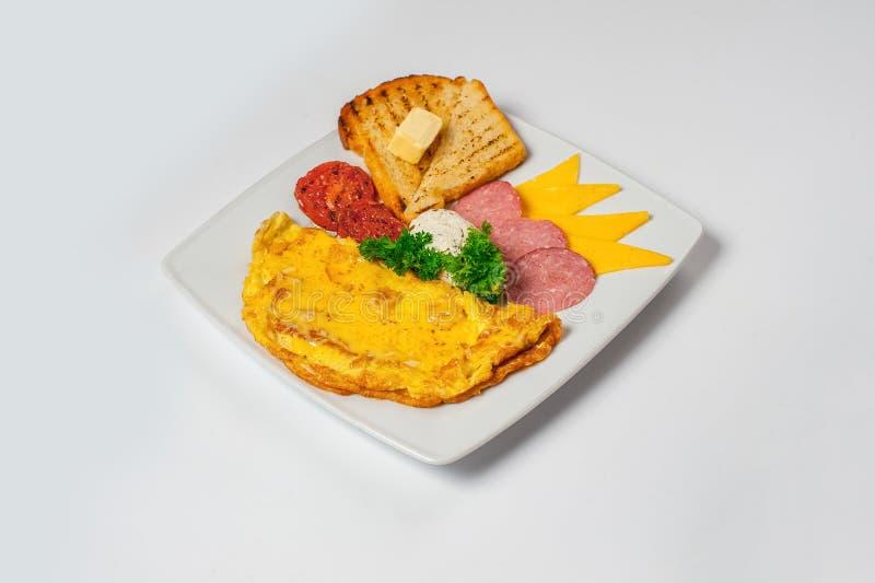 Italian breakfast. Studio photo royalty free stock photo