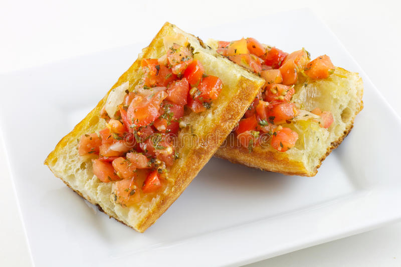 Download Italian Bruschetta stock image. Image of meal, isolated - 20422319