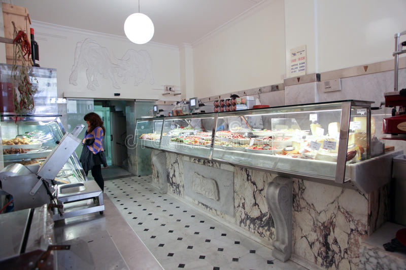 Download Italian Butcher Shop Editorial Photography - Image: 24664567