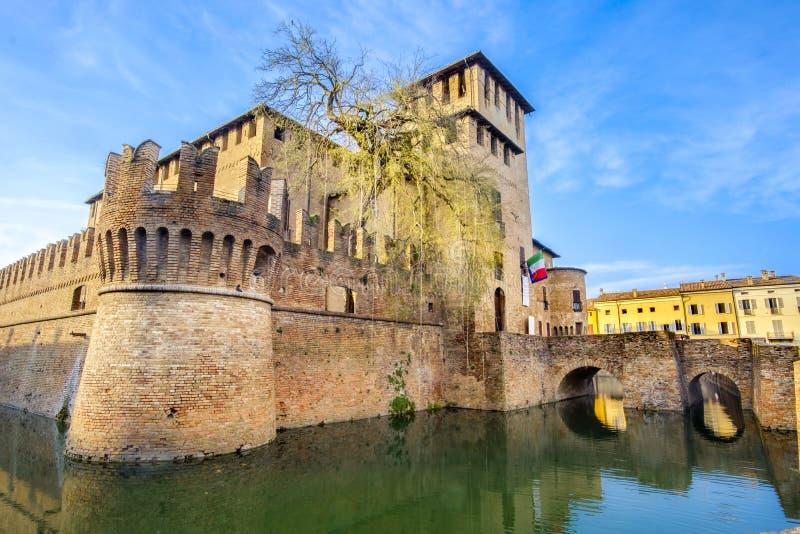 Italian castles - Fontanellato - Parma - Emilia Romagna - Italy. Italian castles -Fontanellato - Parma - Emilia Romagna - Italy stock image
