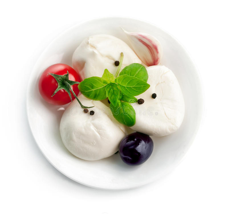 Download Italian Cheese Mozzarella Plate With Leaf Basil Stock Image - Image of leaf vegetarian  sc 1 st  Dreamstime.com : italian cheese plate - pezcame.com