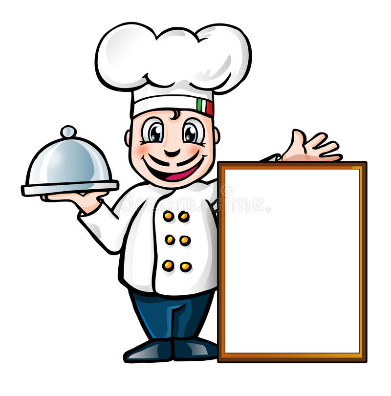 italian chef stock vector illustration of background 28678686 rh dreamstime com Italian Female Chef Italian Chef Pasta