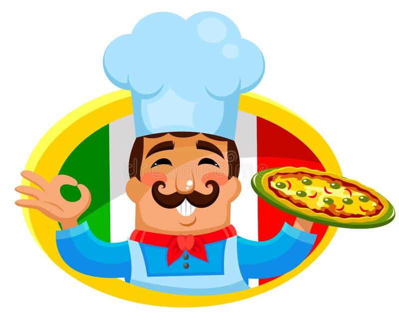 Download Italian chef stock vector. Image of apron, image, profession - 29600573