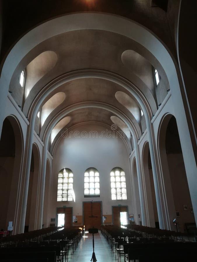 Italian Church Culture Chairs Light royalty free stock photos