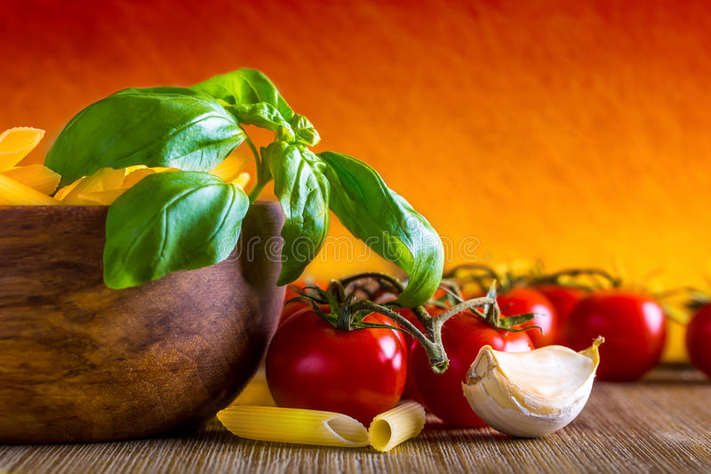 Download Italian ciusine stock photo. Image of basil, italian - 41816062
