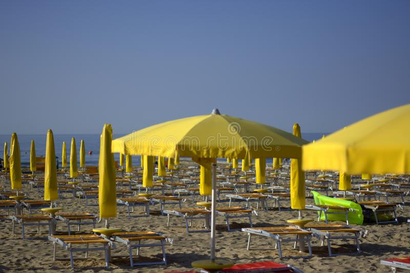 The summer season begins. The Italian coast between good sea food and art stock photography