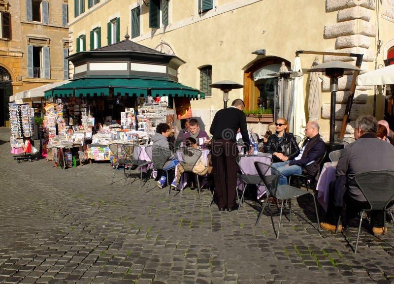 Italian coffee bar royalty free stock photography