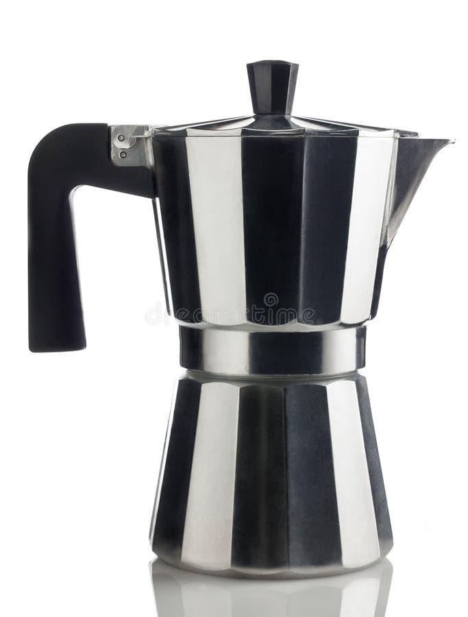 Italian Coffee Maker Vector : Italian coffee maker stock photo. Image of white, maker - 25691006