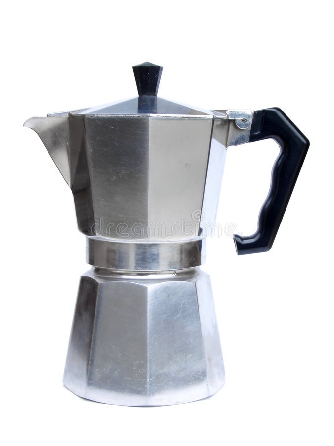 Italian Coffee Maker Stock Image