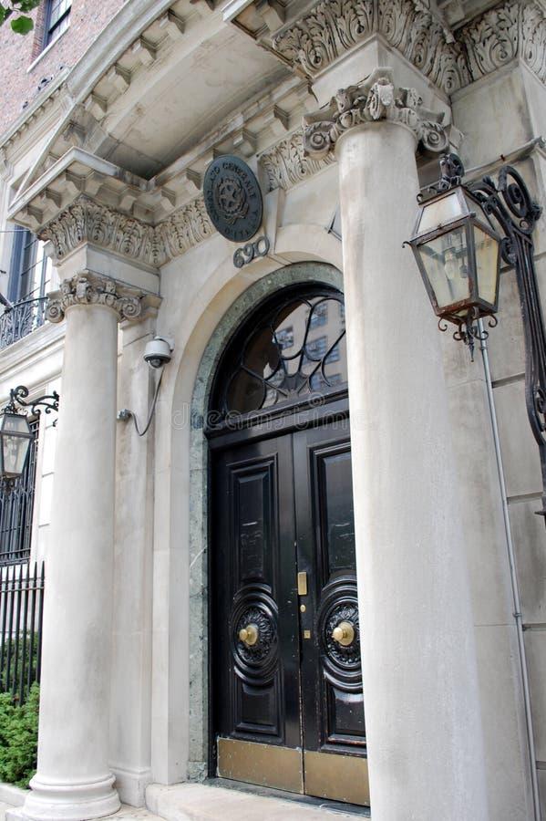 Italian Consulate In New York City Editorial Stock Image