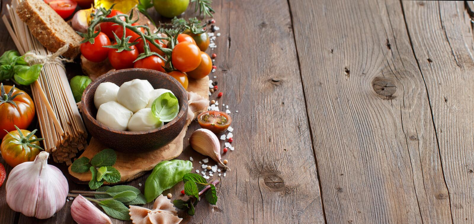 Download Italian Cooking Ingridients Stock Image - Image of meal, bright: 67419795