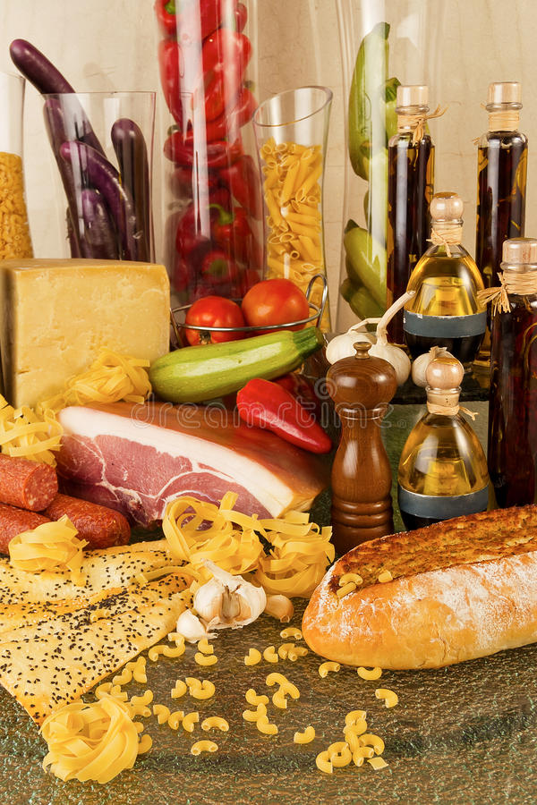 Download Italian cuisine stock image. Image of olive, diet, food - 18780637