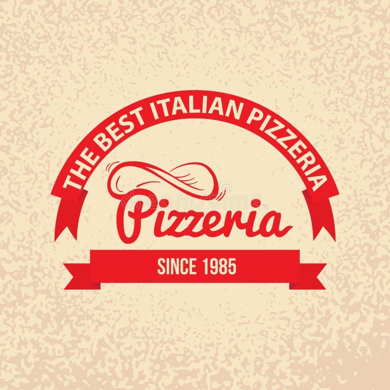 Italian cuisine retro vintage label stock vector for Cuisine retro design