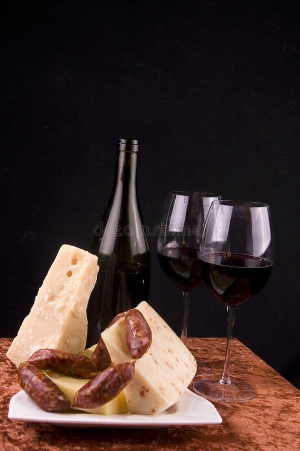 Italian delicacies royalty free stock photography