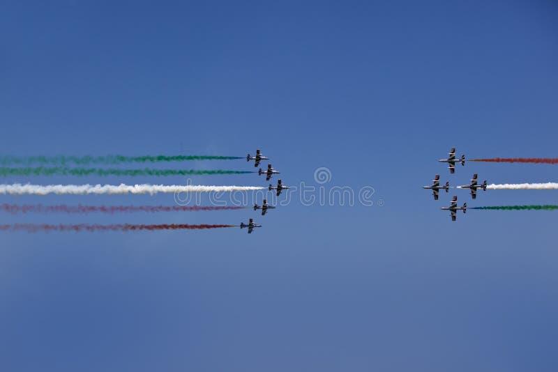 Download Italian Demoteam Frecce Tricolori Stock Image - Image: 25853159