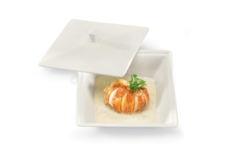 Download Italian dish stock photo. Image of cuisine, table, conchiglioni - 18008380