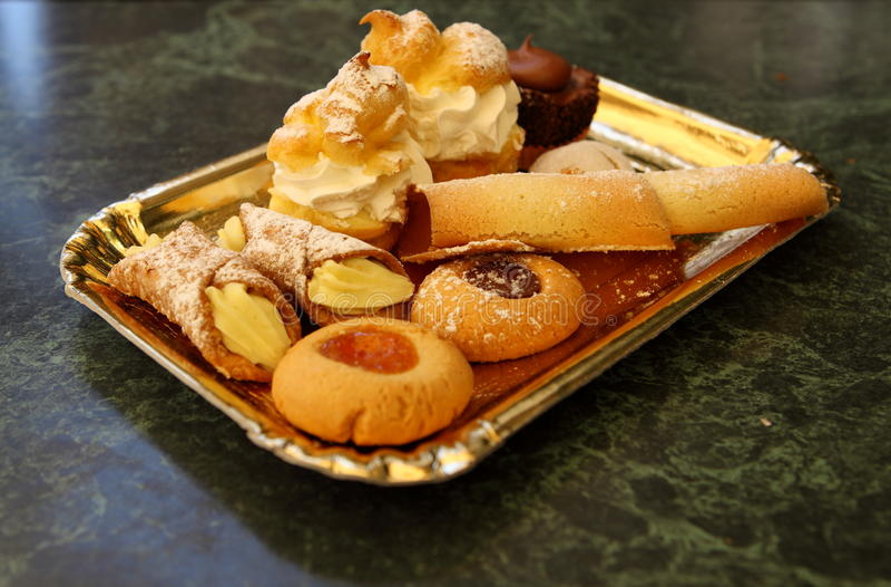 Italian Dolce Stock Image. Image Of Eatable, Caffee