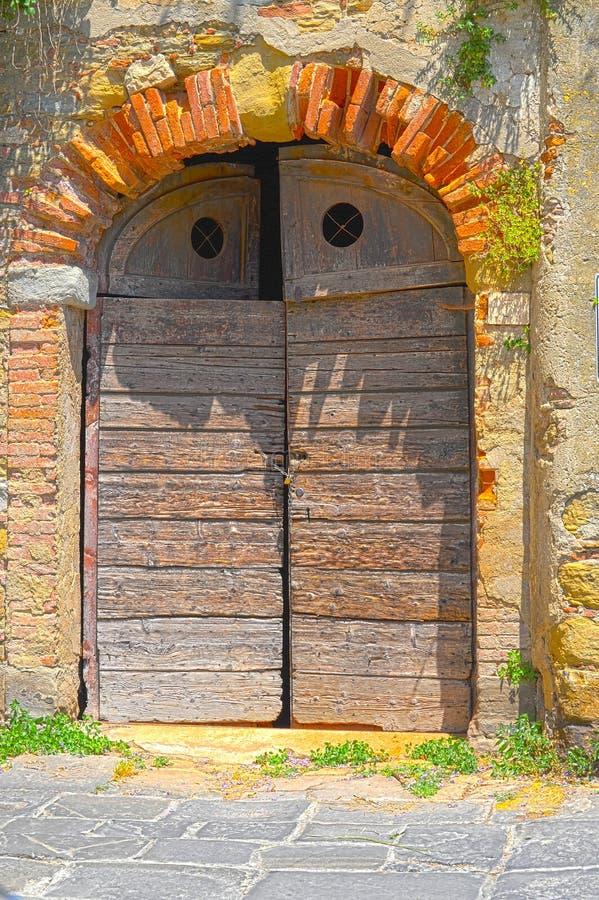 Download Italian Door stock image. Image of ancient, masonry, brick - 16934981