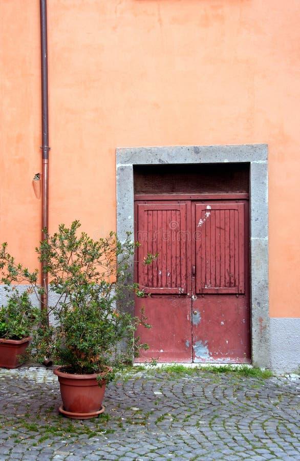 Italian door royalty free stock images