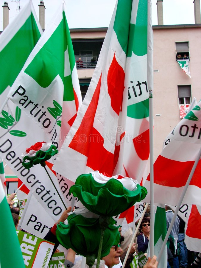 Download Italian Elections: Veltroni In Milan Editorial Stock Image - Image: 4602619
