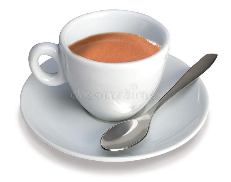 Download Italian Espresso Cup stock image. Image of isolated, full - 21683585