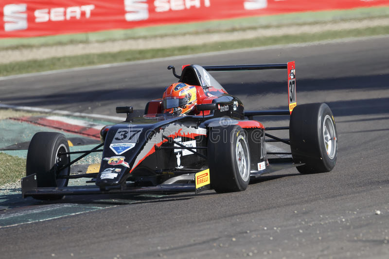 Italian F4 Championship Powered by Abarth stock images