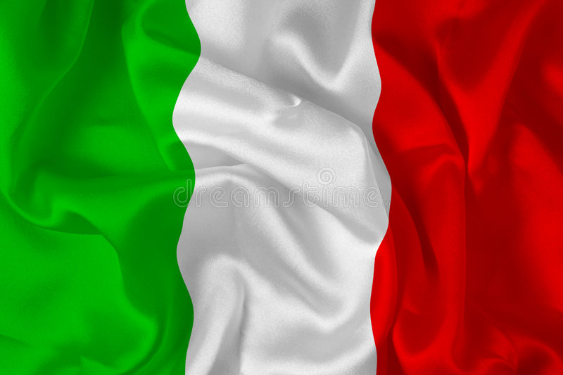 Italian flag - digital royalty free stock photo