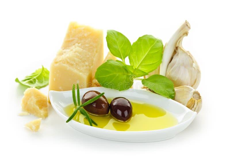 Italian flavors royalty free stock photos