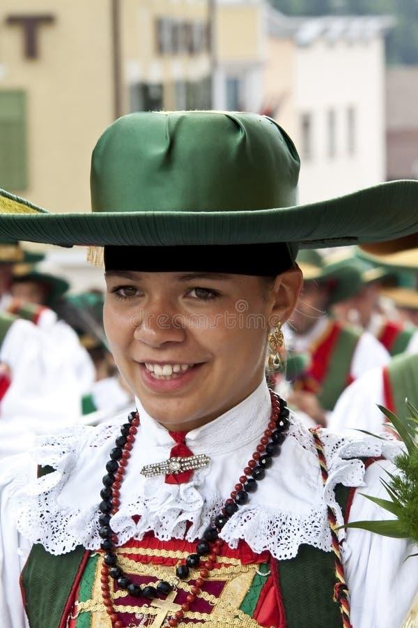 Download Italian folk fest editorial stock image. Image of gardena - 26181409