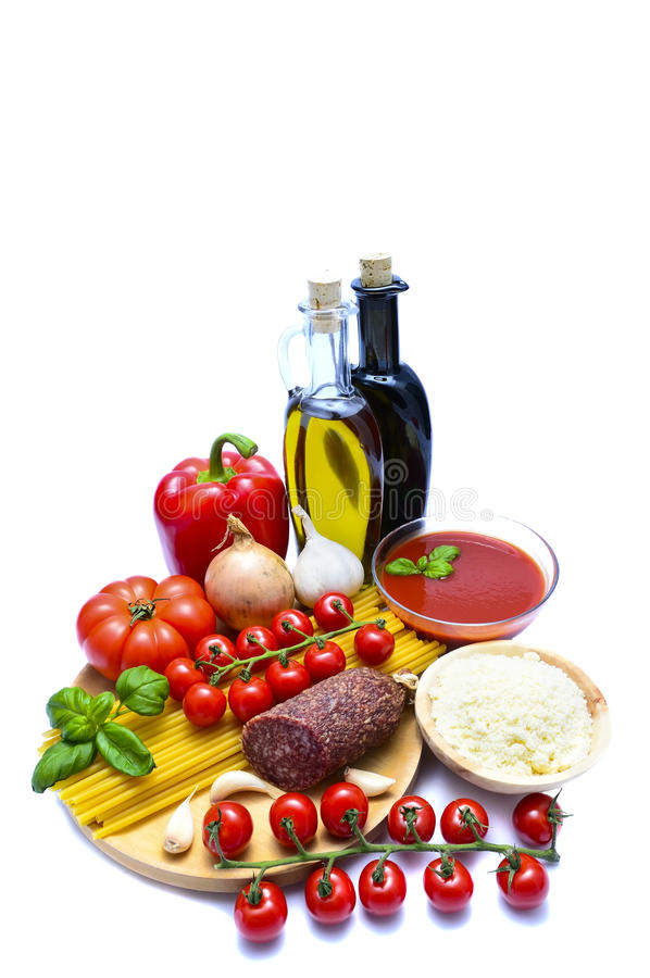 Download Italian food stock photo. Image of cuisine, pepper, cheese - 18135012