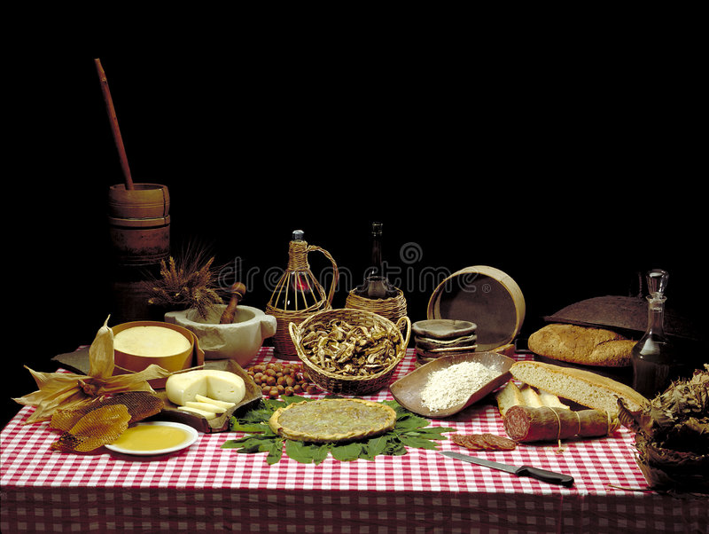 Download Italian Food stock photo. Image of europe, italy, three - 252830